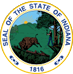indiana.thecensus.co State Seal